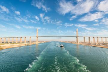 Al Salam Peace Bridge in Egypt