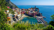 Looking Down Onto Vernazza, Ci...