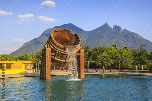 Staande foto Mexico Cerro de la Silla