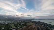 Timelapse. Hawaii Sunset With ...