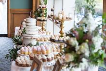Wedding Cake Dessert Sweet Tab...
