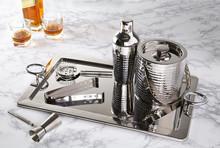 Crystal Glass Decanter And Bar...