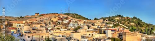 Poster Tunesië Skyline of El Kef, a city in northwestern Tunisia