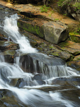Beautiful Waterfall In Mount R...