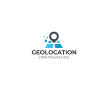 Geolocation Logo Template. Pla...