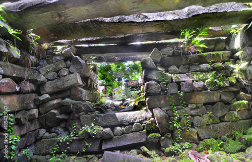 Valokuva  Nan Madol - archaeological site on the island of Pohnpei,  Federated States of M