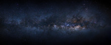 Panorama Milky Way Galaxy With...