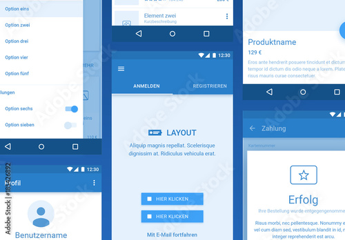 Platforma-Drahtmodell-Kit für Android. Buy this stock template and ...
