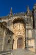Castelo de Tomar e Convento de Cristo, na cidade de Tomar, Portugal.