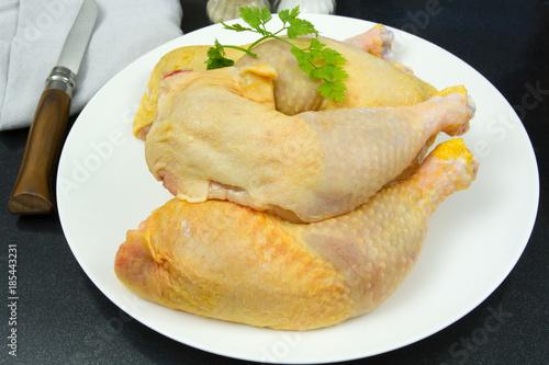 Fototapeta cuisses de poulet
