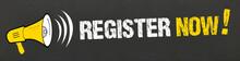 Register Now! / Megaphon