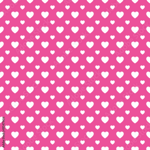 Hearts Icons Template Texture Valentines Day Vector Background