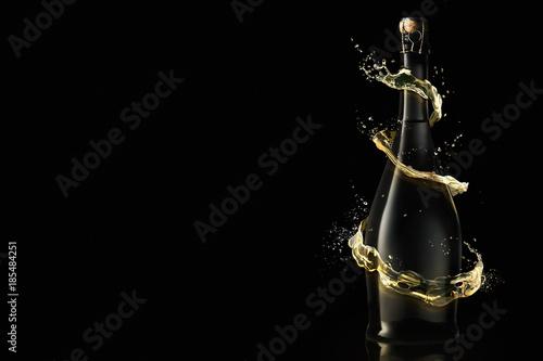 Fotografie, Obraz  New Year Celebration with champagne