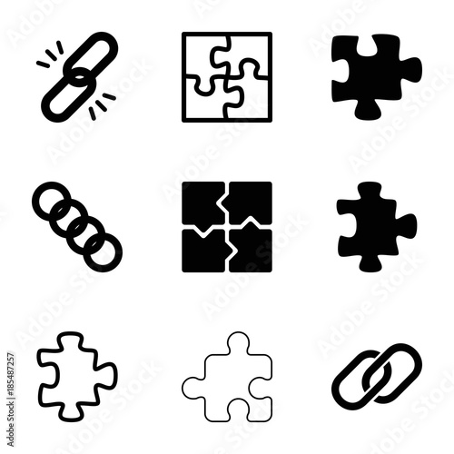 Togetherness Icons Set Of 9 Editable Filled And Outline