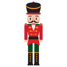 Vector Cartoon Cute Nutcracker...