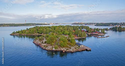Foto auf Acrylglas Stockholm Stockholm Schärengarten skärgarden islands sweden