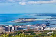 Elevated View Of Honolulu Inte...