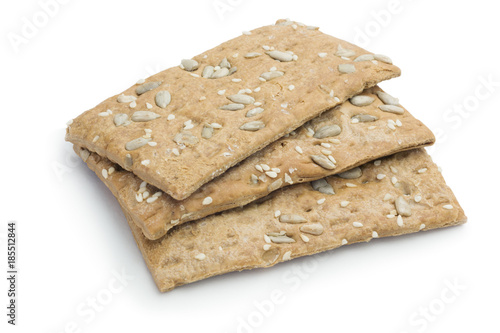 Fotografie, Obraz  Malt biscuits with sunflower seeds, diabetic food