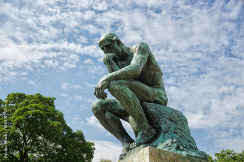Papel de parede The Original Thinker The Musée Rodin
