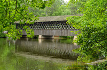 Covered Bridge - A Summer View...