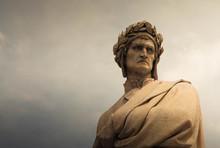 Statue Of Dante Alighieri In P...