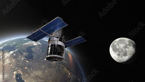 Fotomural 人工衛星