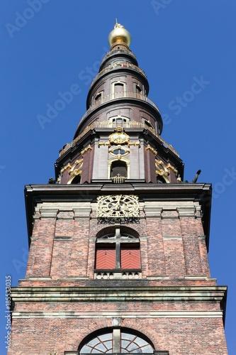 Church of our saviour in Copenhagen, Denmark Poster