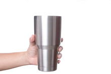 Hand Holding Stainless Steel T...