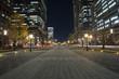 東京駅前行幸通りの夜景