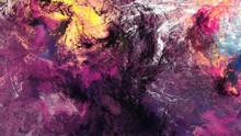 Lilac Clouds. Bright Artistic ...