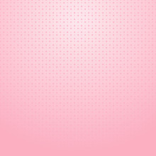 Pink Halftone With Dots Pattern On Pink Gradient Background For Valentines Day.