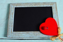 Valentines Day, Frame And A Re...