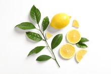 Composition With Ripe Lemons O...