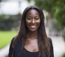 Headshot Of A Beautifull African American Woman