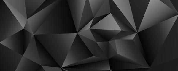 czarne kryształy tło wektor