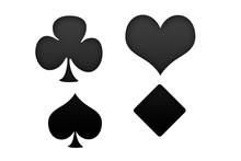 Símbolo De Cartas De Poker.