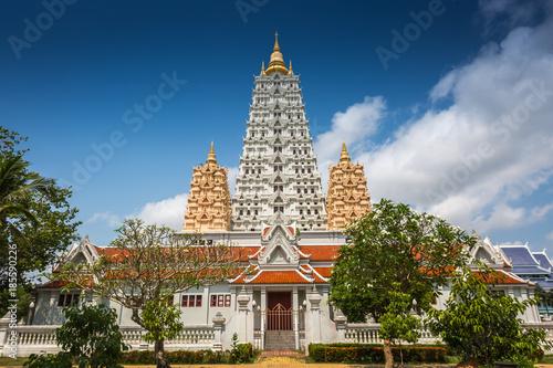 Spoed Foto op Canvas Bedehuis .Wat Yan Sang Wararam Woramahawihan temple, Chonburi Province, Thailand