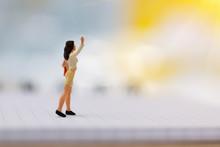 Miniature Working Woman