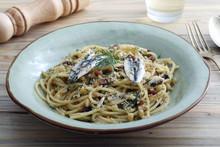 Pasta Spaghetti Con Le Sardine...