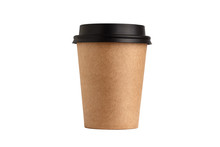 Blank Take Away Kraft Coffee C...