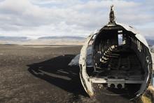 Plane Crashed , Iceland