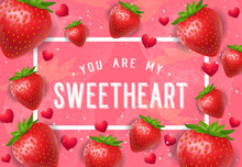 My Sweetheart Lettering With S...