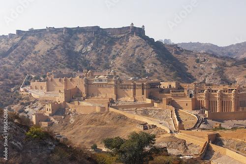 Amer Fort near Jaipur India Poster