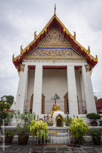 Deurstickers Bedehuis Buddhist temple in Bangkok, Thailand