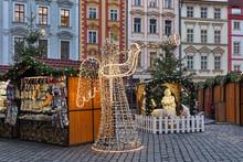 Prague, Czech Republic. Angel ...