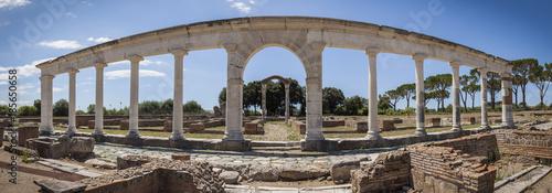 Foto op Aluminium Rudnes Roman ruins in Minturno, Italy.