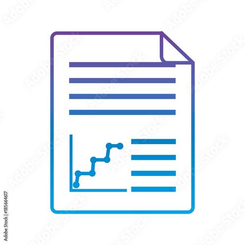 document web diagram report icon vector illustration ...