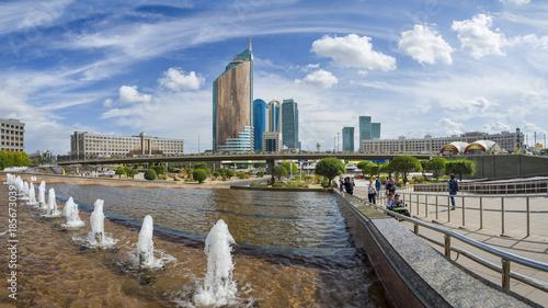 Papiers peints Paris Astana city