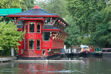 Famous  Red Chinesse House At ...