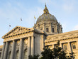 San Francisco City Hall Civic Center - San Francisco, California, CA, USA
